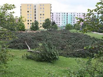 Podnět kzastavení stavby dle ustanovení čl. 3.1.1. a 3.2.  obecně závazné vyhlášky statutárního města Brna č.1/2009